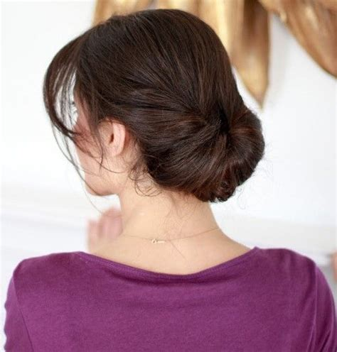 in u shape hair how we made ponytail easy everyday updo brush out your hair make sure there are