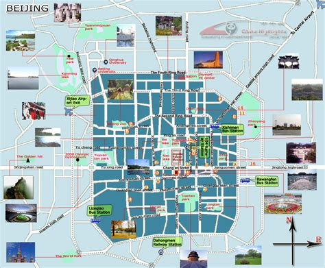 beijing on a world map detailed tourist map of beijing city beijing city