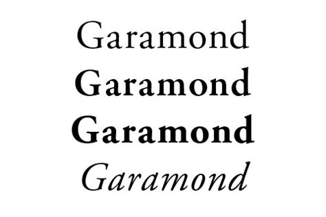 10 Tips For Designing 10 alternatives to the classic font garamond frank