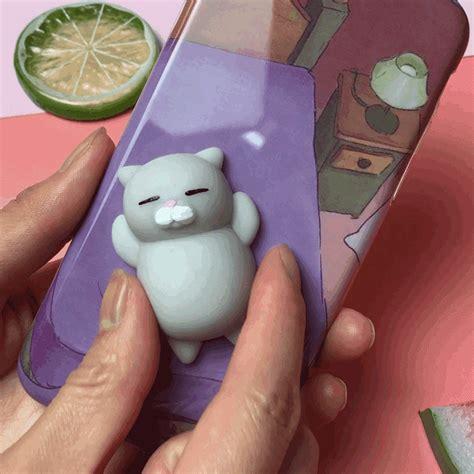 Squishy Lazy Cat Squeeze Soft Silicone Iphone bakeey 3d squishy squeeze rising soft lazy cat pc for iphone 6 6s 6plus 6splus