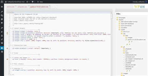 wordpress theme editor code highlight how to improve the wordpress built in code editor