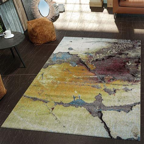 moderner teppich moderner teppich wohnzimmer asphalt design hochwertig
