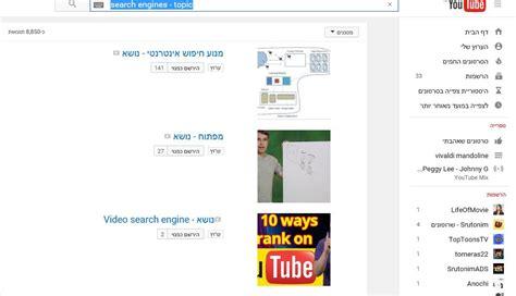 edmodo youtube channel אלגוריתם אוצרות התוכן של ערוצי יוטיוב youtube עמי סלנט