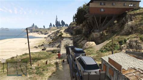 grand theft auto  truck car trailer gameplay hd
