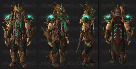 three tier wow patch 7 3 tier 21 armor sets