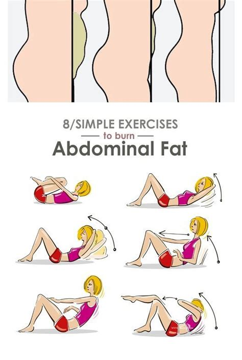 8 simple exercises to reduce abdominal at home posted by newhowtolosebellyfat ab