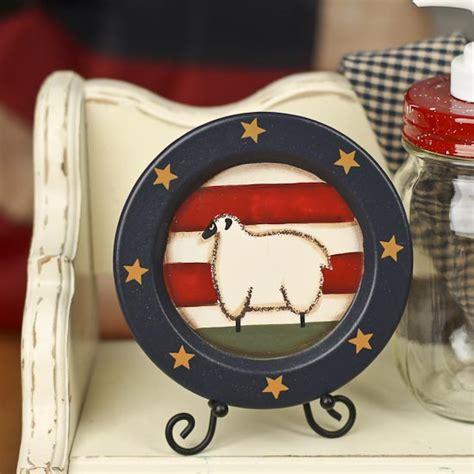americana home decor catalogs primitive americana sheep plate americana decor home decor