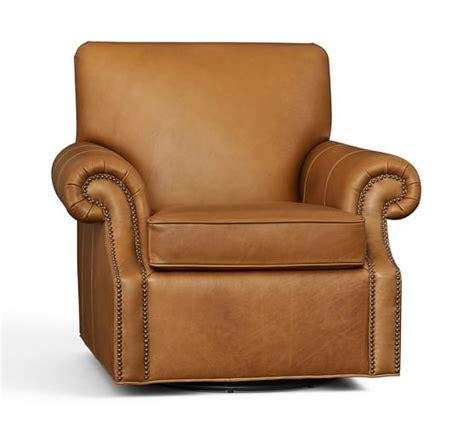 pottery barn leather sofa craigslist pottery barn manhattan recliner leather club chair