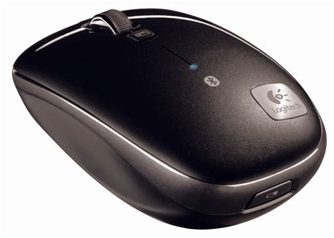 Mouse Blutooth Logitech logitech portable bluetooth mouse m555b with quot hyper fast scroll quot slashgear