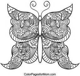 butterfly coloring pages for adults butterfly coloring page 21