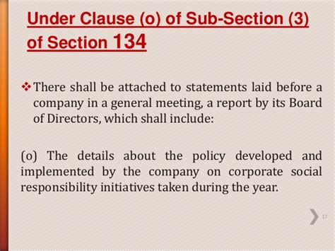 section 16 officer definition csr as defined in section 135 of the companies act