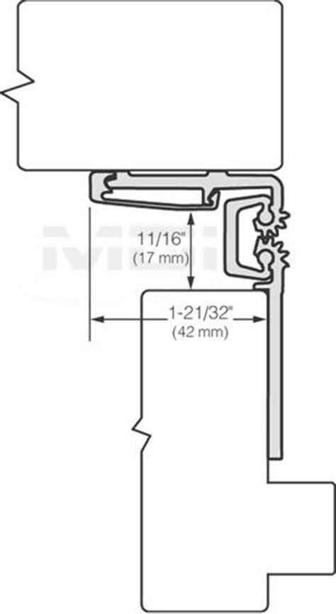 Aluminum Half Surface Continuous Gear Hinges Hager Roton 780 053 Continuous Hinge Half Surface Stanley Electric Hinge Templates
