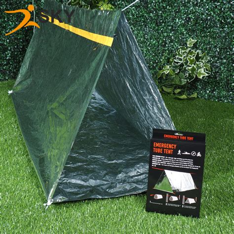 Tenda Emergency Aluminium Emergency Tent Emergency Shelter S Diskon color box installed aluminum foil earthquake outdoor emergency emergency tent temporary