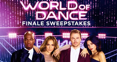 Nbc Com Sweepstakes - nbc world of dance finale sweepstakes 2018