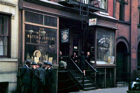 nyc color new york 1940 s in color shockblast