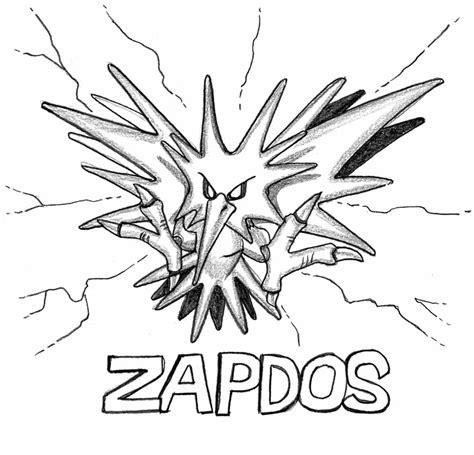 pokemon zapdos coloring pages zapdos pokemon coloring pages images pokemon images