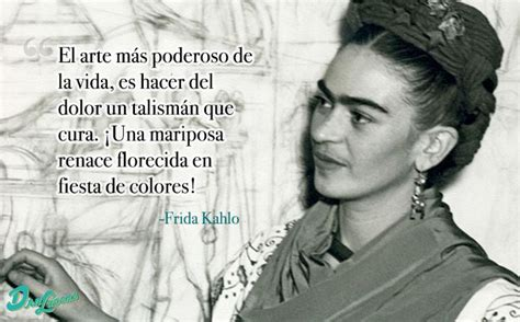 imagenes de reflexion de frida kahlo frase frida kahlo frase del d 237 a pinterest tes pain