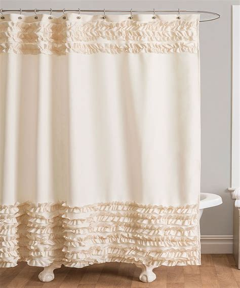 ivory shower curtains ivory skye shower curtain