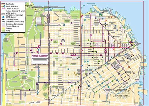san francisco trolley map cable car route map san francisco michigan map