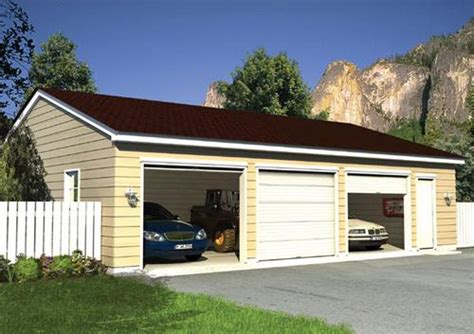 Garages At Menards by Eave Entry Garage Building Plans Only At Menards 174