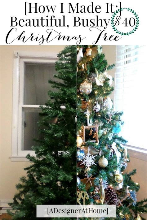 get the most out of a cheap christmas tree a designer at