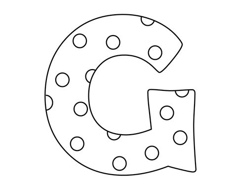 G Alphabet Coloring Pages by Letter G Coloring Pages For Your Lovely Toddlers