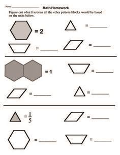 pattern block activities for third grade 1000 images about pattern blocks and attribute blocks