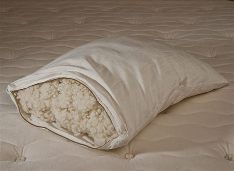 wool bed pillows organic wool pillows the organic mattress store