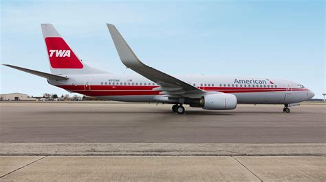 American Airlines american airlines unveils twa heritage jet insideflyer