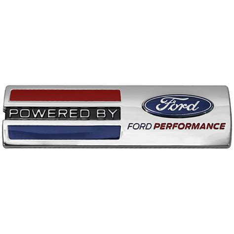 powered by ford emblem powered by ford performance badge part details for m
