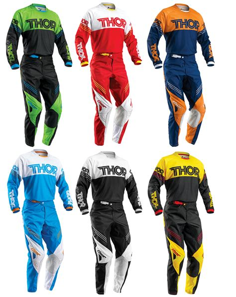 Baju Sepeda Thor Motocross Jersey Motor Cross thor mens youth phase hyperion dirt bike jersey kit combo mx atv mtb ebay