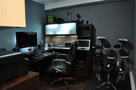 how to setup a home office in a small space pc home office setup workstation setupsworkstation setups