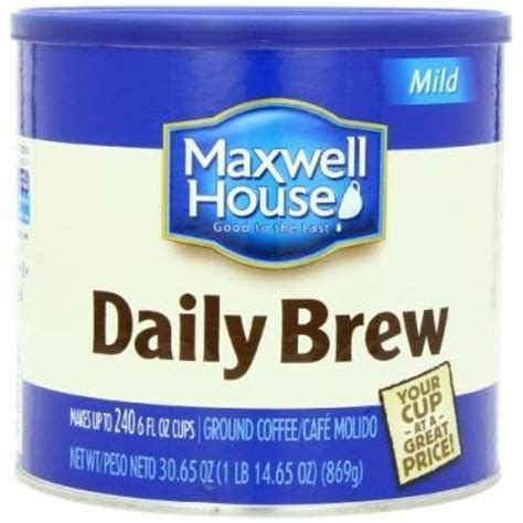 Maxwell House Coffee Review by Maxwell House Original Roast Coffee Reviews Find The Best Coffee Beans Instant Coffee