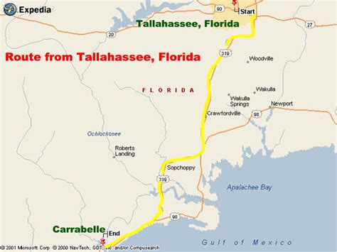 map of carrabelle florida maps