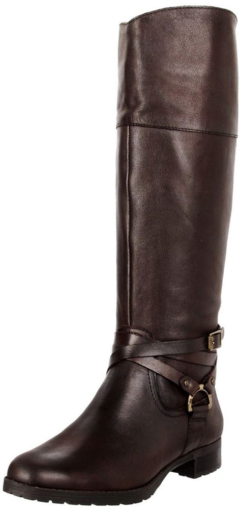black or brown boots ralph women s boots shoes sonya brown