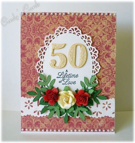 50th Wedding Anniversary by frenziedstamper   Cards and