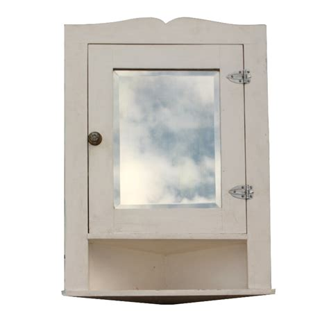 Bathroom Cabinet Mirrors Salvaged Bathroom Corner Medicine Cabinet With Beveled Mirror Nmc5 For Sale Antiques