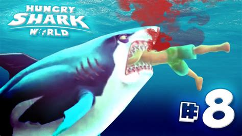hungry shark evolution megalodon santa dropping bombs eating santa great white shark eats you all hungry shark world
