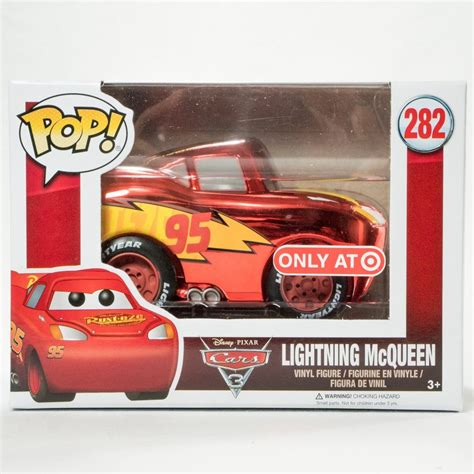 Funko Pop Disney Cars 3 Lightning Mcqueen funko pop disney pixar cars 3 metallic lightning mcqueen