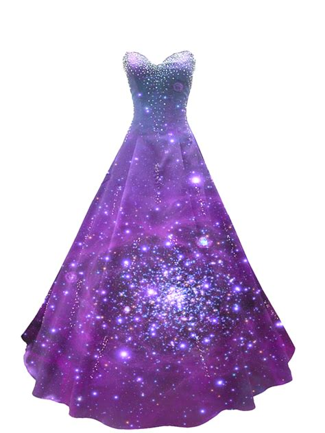 Galaxy dress png by babygreenlizard on deviantart