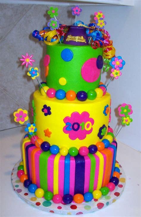 Colourfull Cake colorful graduation cake wow cï â î ñ õ â â é akîµõ and