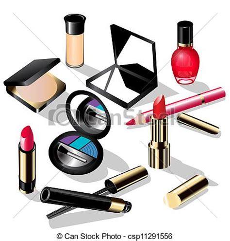 Lipstik Pensil Makeover clipart vector of illustration decorative cosmetics