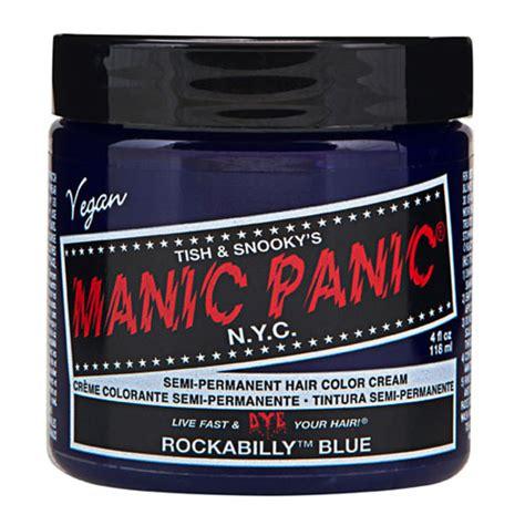 manic panic dye rockabilly blue sale price
