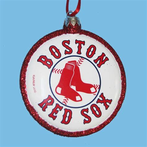 clearance boston red sox mlb baseball christmas tree