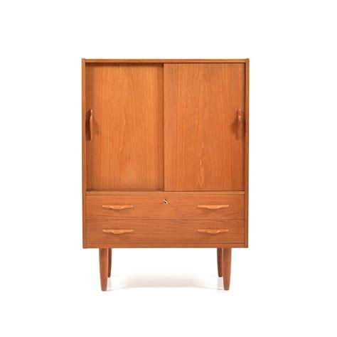 mid century danish armoire mid century danish teak cabinet 61933