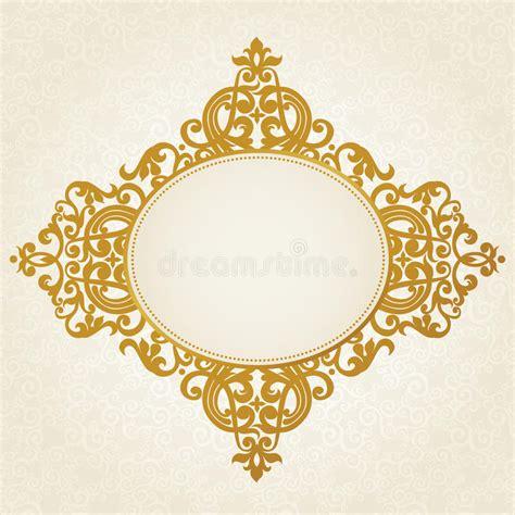 barok stijl bloemen vector barok kader in victoriaanse stijl vector