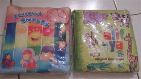 Gigitan Bayi Bentuk Buku Softbook sale paket murah softbook buku bantal mainan flashcard
