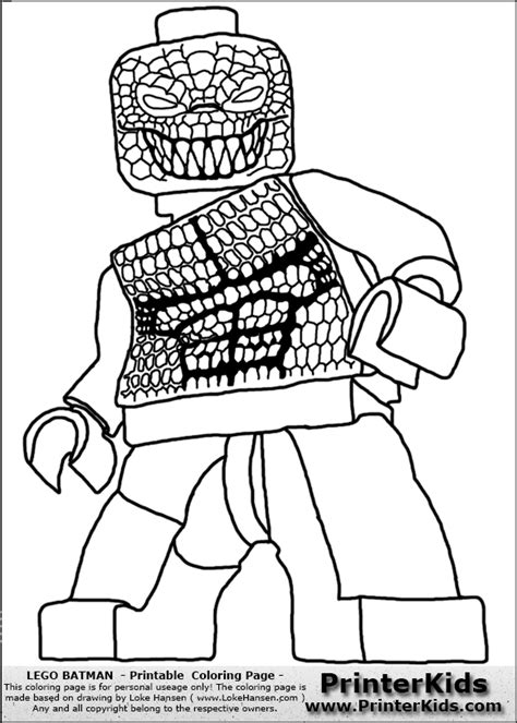 Color Pages For Batman S Villians Lego Lego Batman Coloring Pages Of Lego Batman