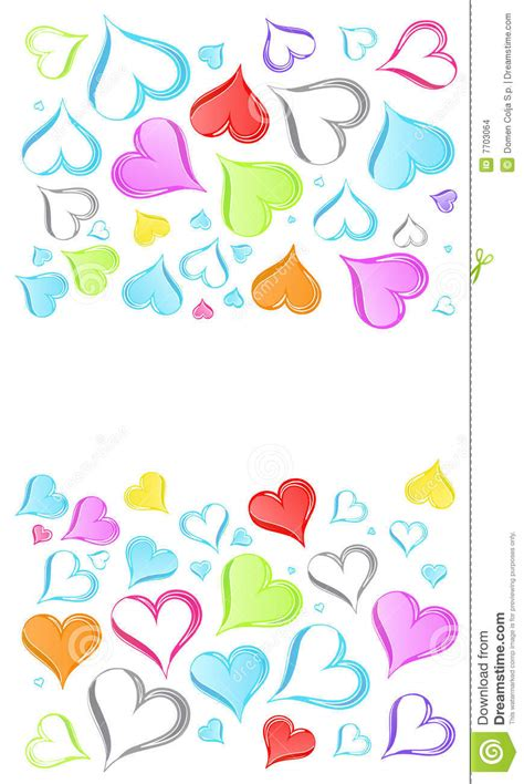 imagenes de arcoiris rainbow hearts background stock images image 7703064