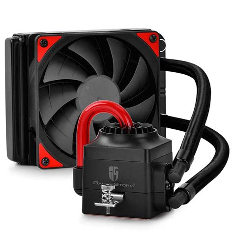 Dijamin Deepcool Captain 120ex Rgb Liquid Cooler deepcool captain ex series cpu water coolers debut legit